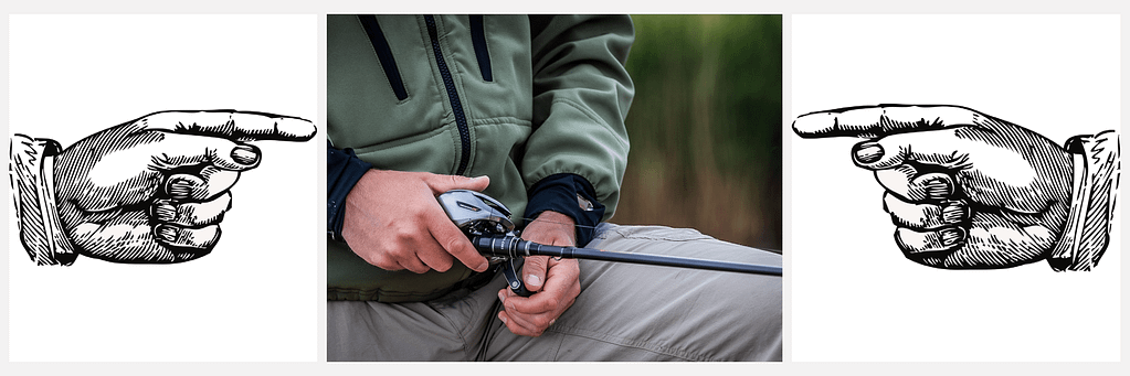 Left-Handed fishing has always been treated as rare and has been discouraged