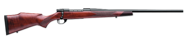 The Weatherby .223 rifle is a common, traditional, hunting rifle platform