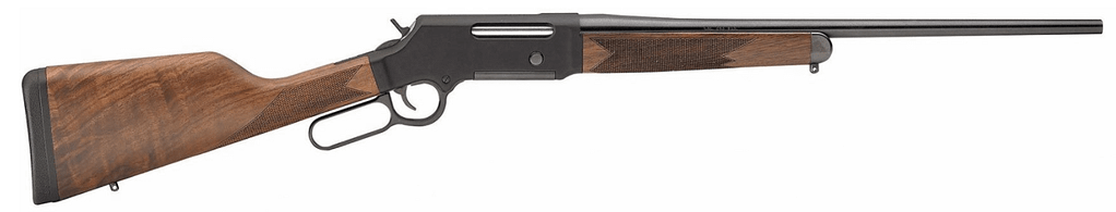 The Henry .223 lever action rifle is less traditional for hunting, but still exceptionally effective.