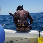 Spear fishing can be a massive adrenalin rush for specialty anglers