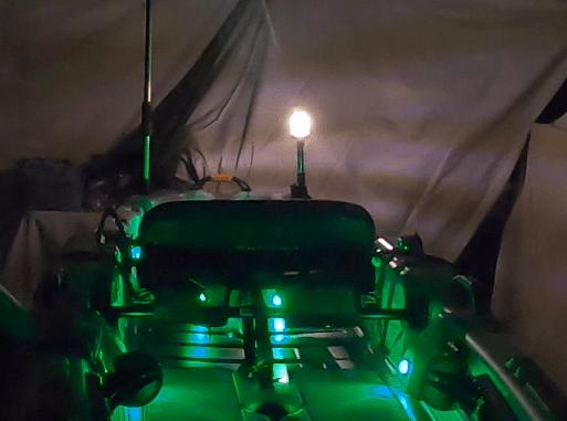 Anchor Light (360 degree light) for Kayaks
