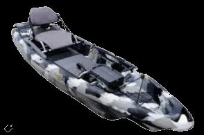 The Bigfish 120 fishing kayak