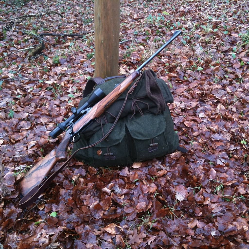 Hunting rifles are common throughout each season. Choices truly depend on the hunter's preferences.