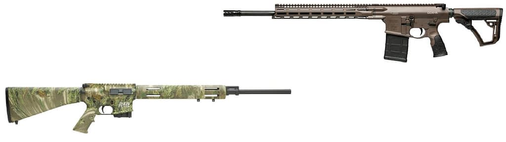 Semi-automatic rifles are available in a variety of hunting calibers these days.