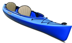 The Featherlight Tandem is a great kayak, but definitely not a fishing kayak.