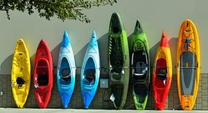 fishing kayak options vary