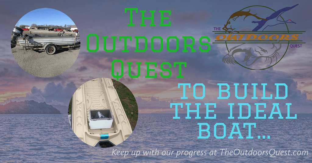 Boat Build & Modifications by the women of The Outdoors Quest