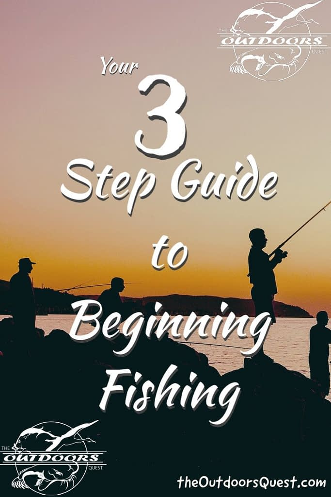 Learning to fish from the Outdoors Quest can be as simple as 3 steps.