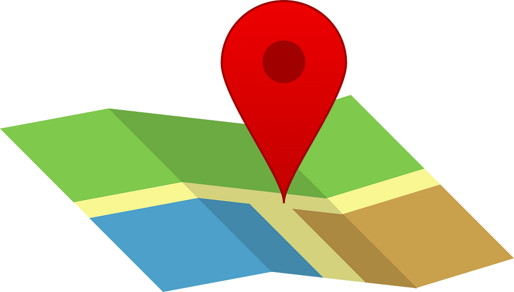 Know Where you are and where you're going on your map