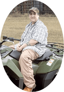 Kat got an ATV to help with the upcoming hunts
