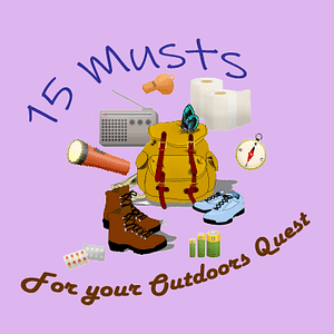 The 15 Musts in The Outdoors Quest Pack
